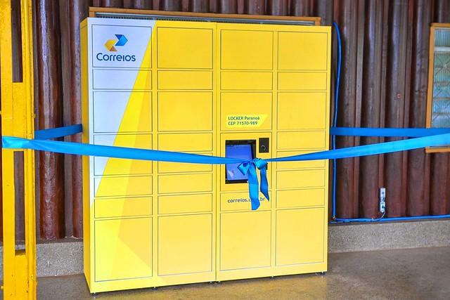 DF é a primeira unidade da Federação a receber um locker dos Correios