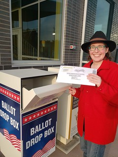 Caitlin Powell Voting 2020 General Election