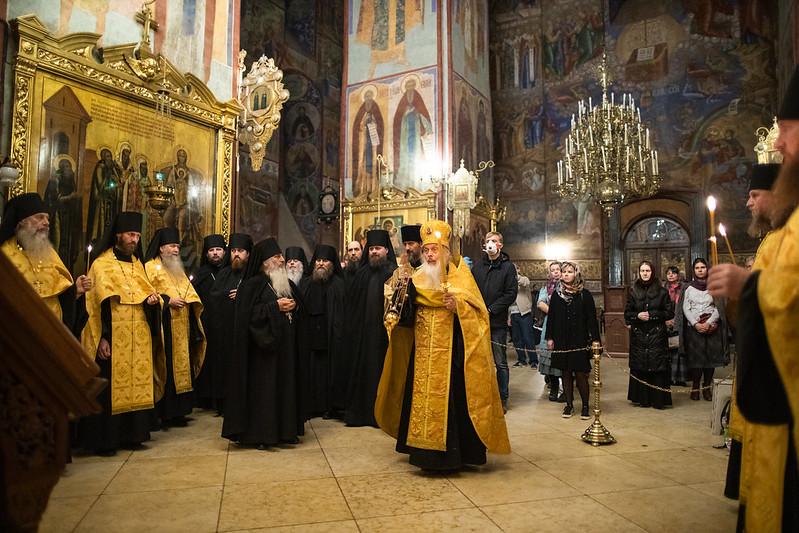27 октября 2020, День памяти свт. Афанасия, еп. Ковровского (1962) / 27 October 2020, The Day of memory of St. Athanasius, Kovrovsky bishop (1962)