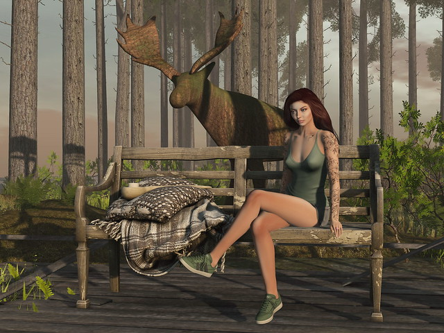 The Elk and the Girl