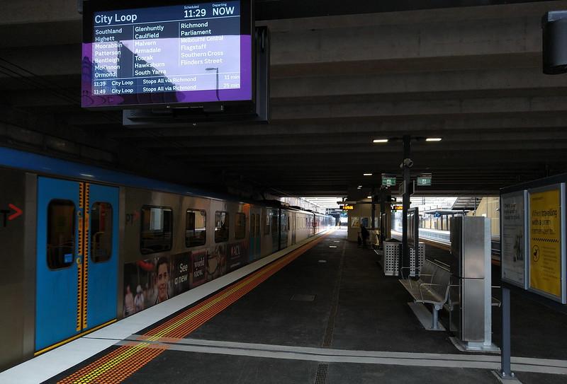 Cheltenham station platform