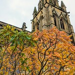 Autumn at the Parish Church in Preston