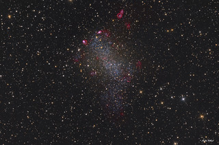 Barnard's Galaxy | by Nicolas ROLLAND