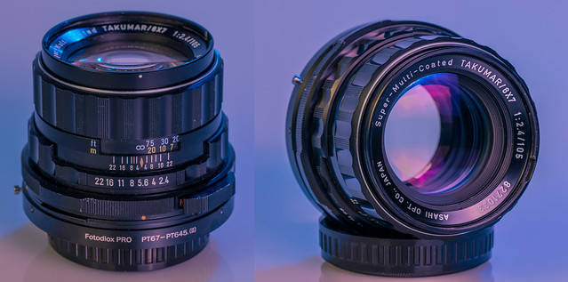 Pentax 105mm f/2.4