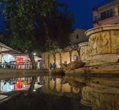 Morosini fountain, Heraklion.