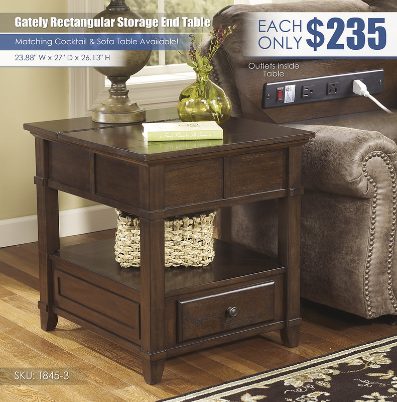 Gately Rectangular Storage End Table_T845-3-SD