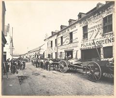 Fruit merchant stores, Barker Street, Sydney, 1900, John Degotardi jnr.