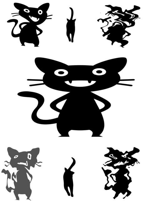 Celebrating Black Cat Day