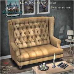 DD Worn Out Chesterfield Seat-Adult