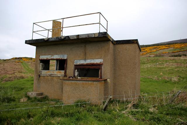 Old World War II bunker between Helmsdale and Berriedale