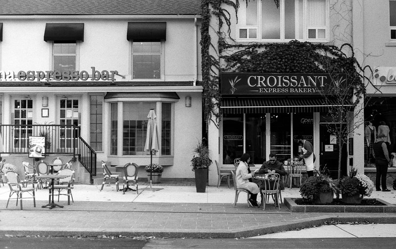 Outdoors at Croissant Express_
