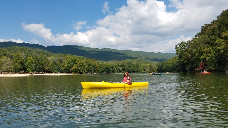 Kayaking at Hungry Mother State Park