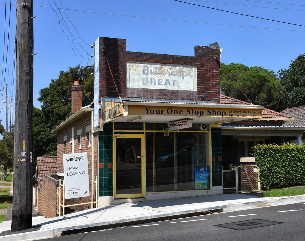 Former Shop, Eastwood, Sydney, NSW.