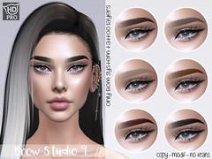 . OH! - Brow Studio 9 - Naturals pack - Catwa HDPRO
