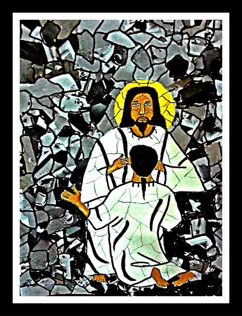Jesus heals deaf