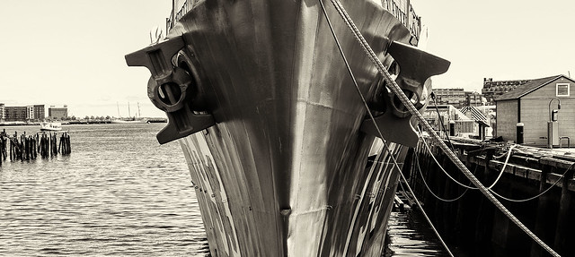 Warship Bow