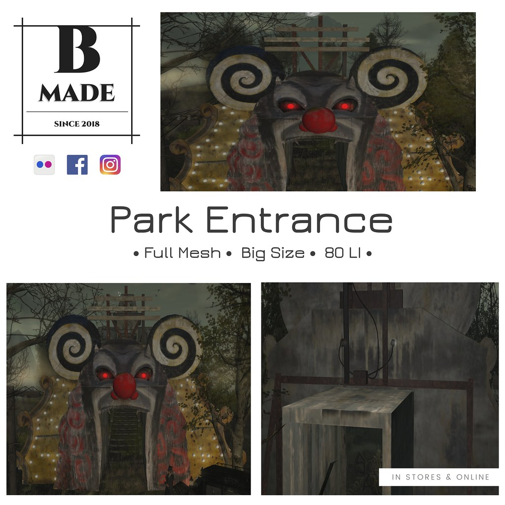 Big Park Entrance now available @ the Mainstore