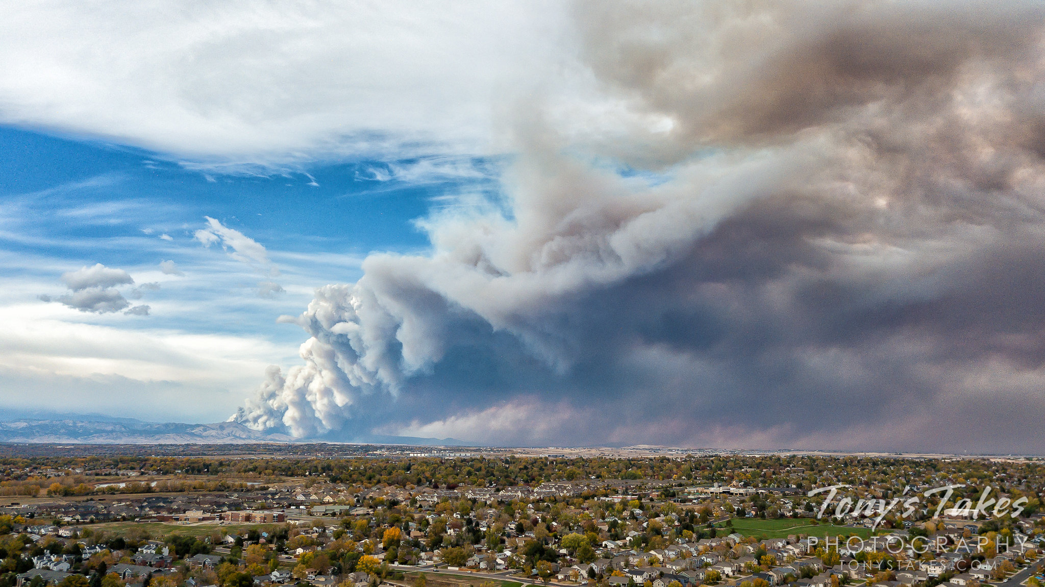 Another wildfire in Colorado