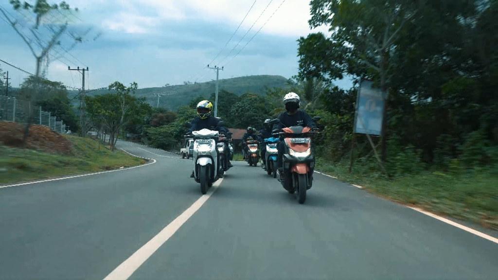 Petualangan Touring Generasi 125 alam Kalimantan Selatan
