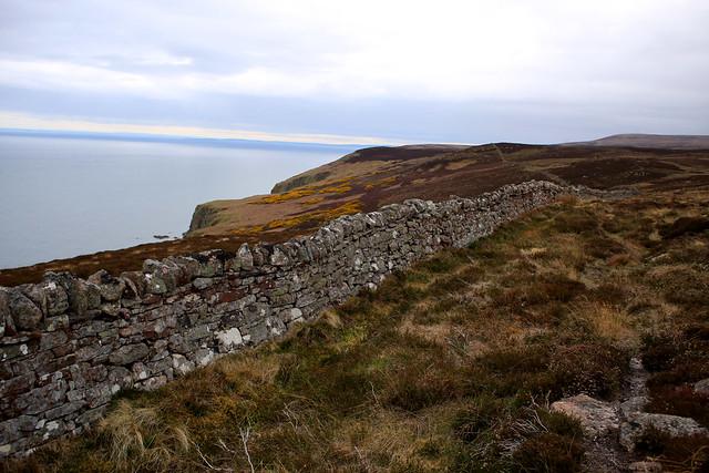 The coast near Badbea