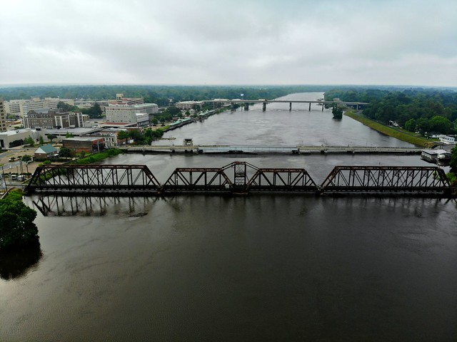 The Greater Ouachita near Flood Stage