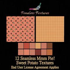 TT 12 Seamless Mmm Pie! Sweet Potato Timeless Textures