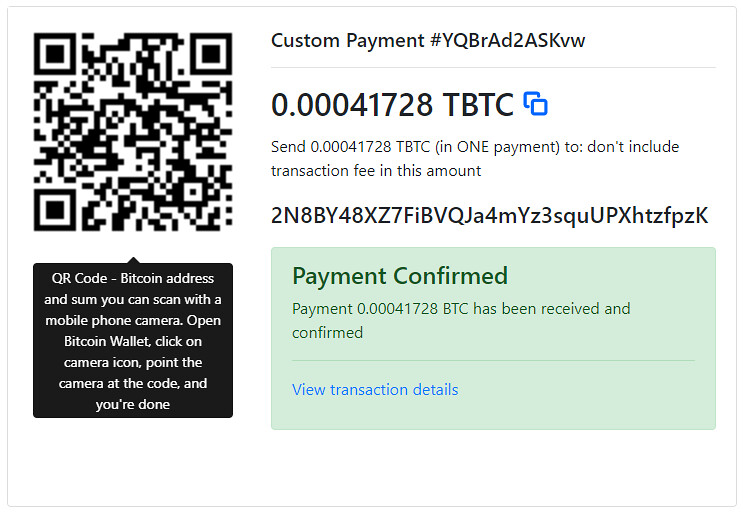 Multi-Coin Crypto-Payment Gateway - 5