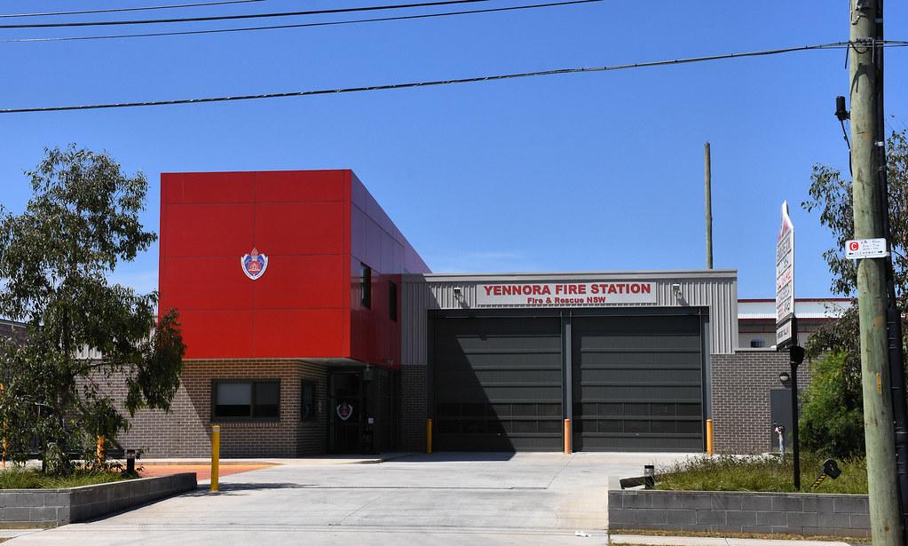 Yennora Fire Station, Yennora, Sydney, NSW.