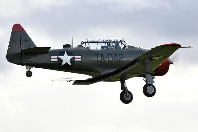 1944 North American T-6G Texan USAF 52-15042 TA-042 115042 G-BGHU