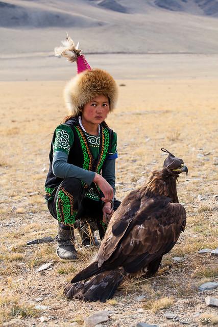 Young Eagle Huntress - Explored 0437