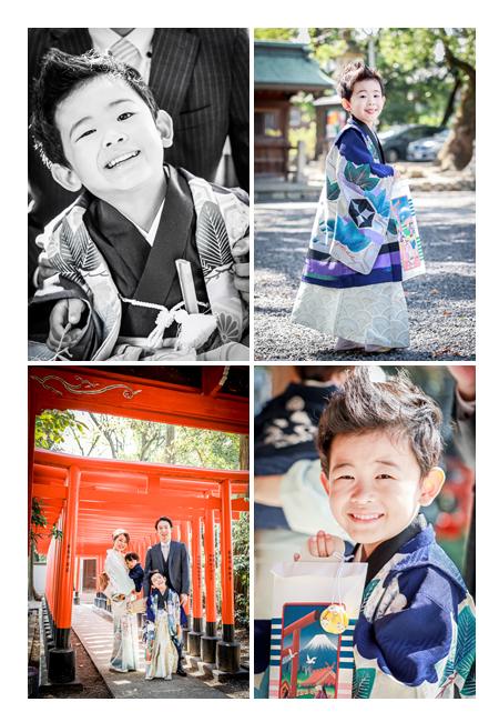 川原神社へ七五三詣り 2020年10月(秋)