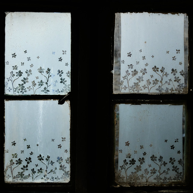 Toilet Window - Cafe, Stow on the Wold.