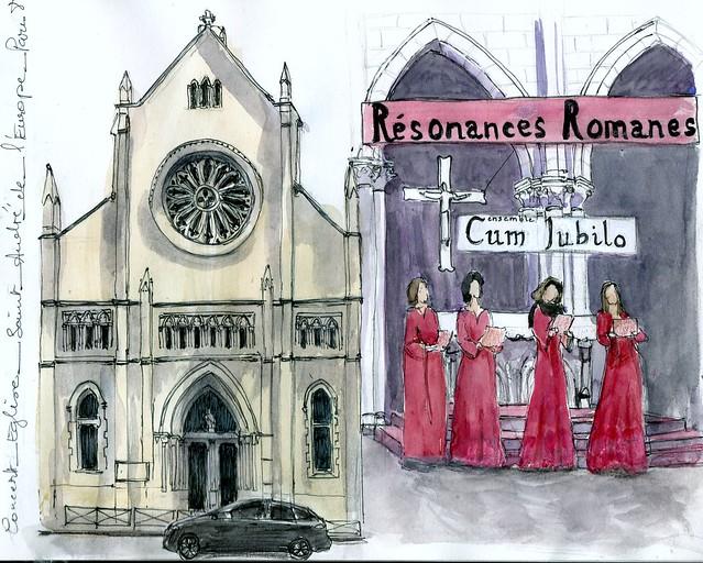 Paris 8ème concert église Saint André de l'Europe