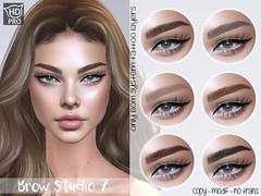 . OH! - Brow Studio 7 - Naturals pack - Catwa HDPRO