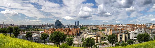 panoramica desde las Tablas de Madrid