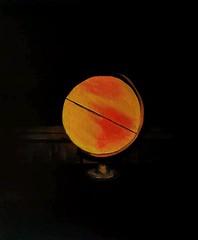 Releitura álbum Parachutes - Coldplay Pintura a óleo com dimensões 40x50cm Preço R$110,00