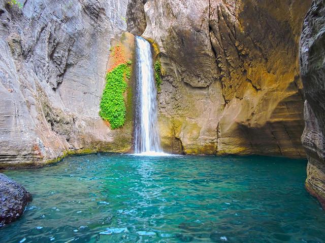 Sapadere Kanyonu ve Şelalesi(Sapadere Canyon and Waterfall)