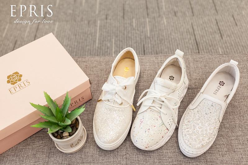 白色鞋子 鞋子收納 白色休閒鞋