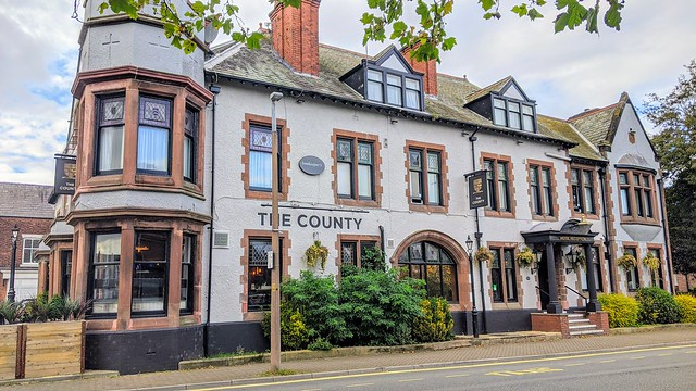 The County Hotel in Lytham St. Annes.