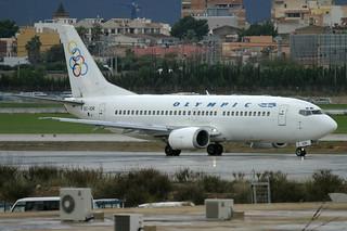 EC-IOR. B-737/300. Olympic. PMI.