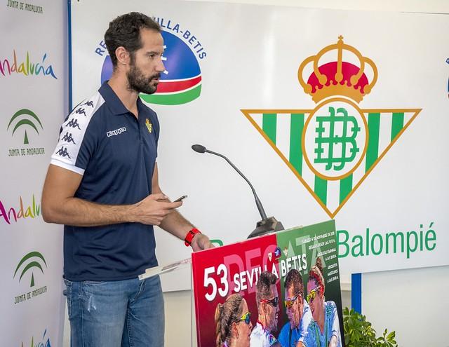 Noé Guzmán, en la presentación del pasado año FOTO JJ Úbeda