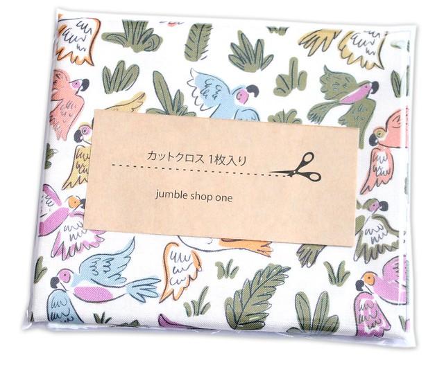 カットクロス Cloud9 Fabrics Garden of Eden 226938 Joyous Parrots
