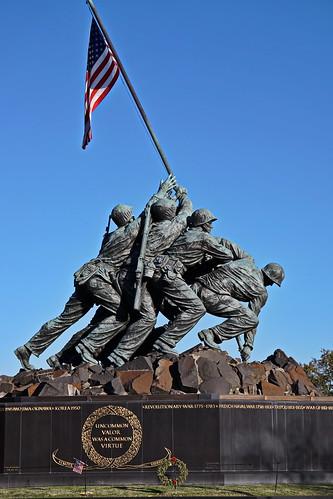 alhikesaz washington dc washingtondc arlington virginia va iwo jima memorial iwojimamemorial usmc marines united states marine corps war wwii marinecorpswarmemorial statue monument