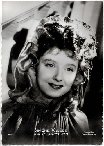 Simone Valère in Le cavalier noir (1945)