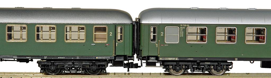 ROCO & A.C.M.E. DB-Wagen Bauart 1961