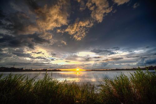 sunset landscape lake manatee florida cloud hdr lakemanatee floridasunset bradenton