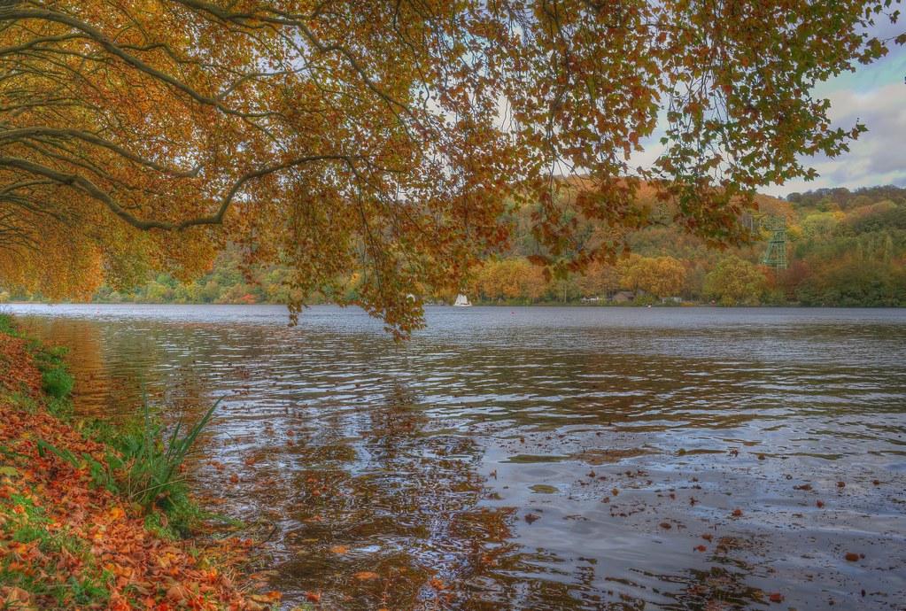 Herbstlicher Baldeneyer See