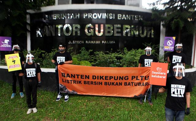 Banten Dikepung PLTU Batubara
