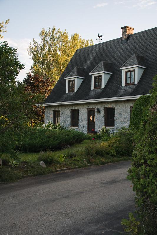 Baie-Saint-Paul, maison rue Sainte-Anne
