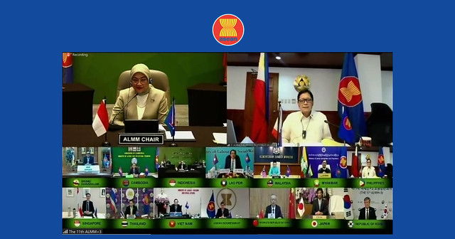 (OCTOBER 2020) ASEAN Labour Minister Meeting+3